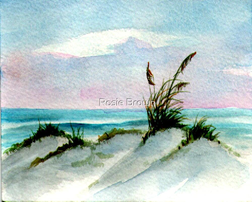Dunes Seascape by Rosie Brown