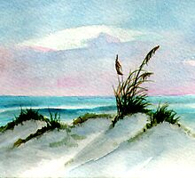 Dunes Seascape by Rosie Brown