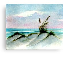 Dunes Seascape Canvas Print