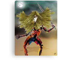 Venusian Warrior Woman Canvas Print