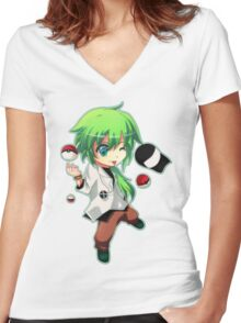 Pokemon - Pokemon Trainer Women's Fitted V-Neck T-Shirt