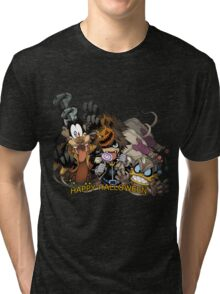 Kingdom Hearts - Happy Halloween! Tri-blend T-Shirt