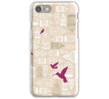 Birds out of Cages iPhone Case/Skin