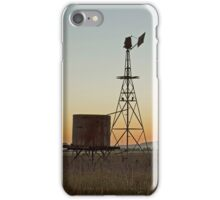 The Old Tank and Windmill iPhone Case/Skin