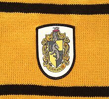 Harry Potter Hufflepuff Badge by NuclearJawa