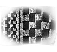 Blocked Wall Poster