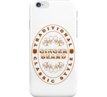 Ginger Beard iPhone Case/Skin