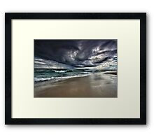 The Angry Sky Framed Print