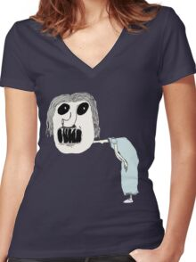 Gawker Women's Fitted V-Neck T-Shirt