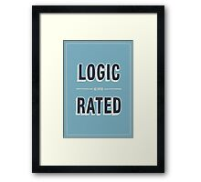 LOGIC Framed Print