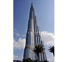 Burj Khalifa 1 Photographic Print