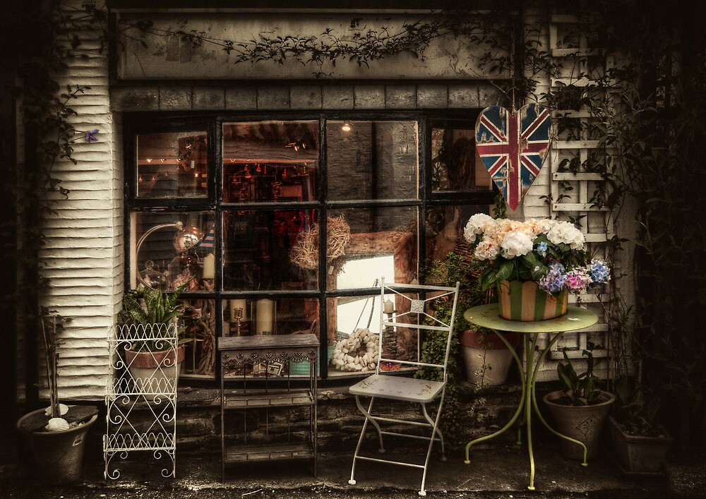 Polperro Shop by ajgosling