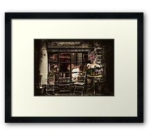 Polperro Shop Framed Print