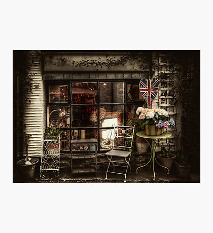 Polperro Shop Photographic Print