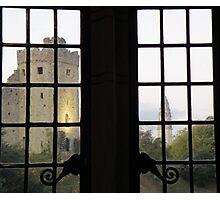 A window View of the Keep! Photographic Print