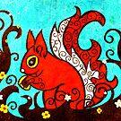 Red Squirrel by Marta Tesoro