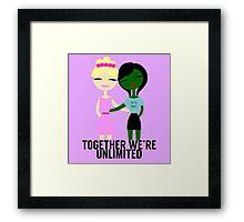 Together We're Unlimited Framed Print