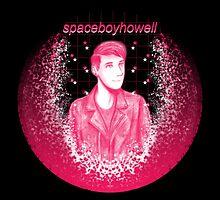 spaceboyhowell by Adzie Doodles