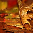 """""""My Grace is Sufficient"""" by Kelly Chiara"""