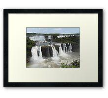 Iguassu Falls, Brazil Framed Print