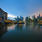Marina Bay &amp; The Sands Hotel. Singapore. by Ralph de Zilva