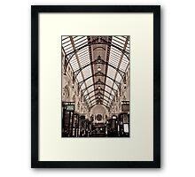 Royal Arcade 2 Framed Print