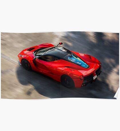 Ferrari LaFerrari in Motion Poster