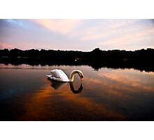 Dawn on Whitlingham Photographic Print
