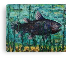 """Fresh fish"" Canvas Print"