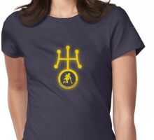 Sailor Uranus (Yellow) Womens Fitted T-Shirt