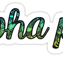 Alpha Phi Doodle Sticker