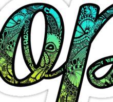 AOPI Doodle Sticker