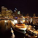 Sydney at Night by johnnabrynn