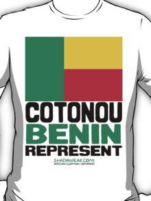 Cotonou, Benin. Represent T-Shirt