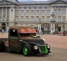 """A Yank in England"" 1941 Chevrolet Rat Rod Pickup by TeeMack"