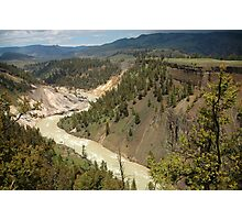 Grand Canyon of Yellowstone River Photographic Print
