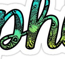 DPhiE Doodle Sticker
