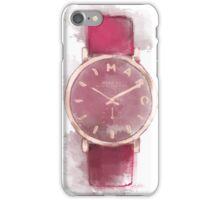 Marc Jacobs Watch artwork iPhone Case/Skin