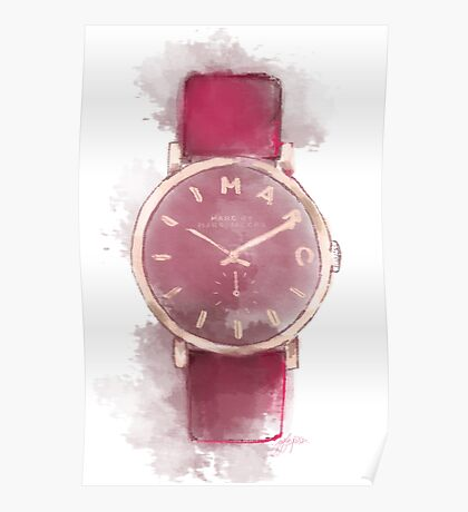 Marc Jacobs Watch artwork Poster