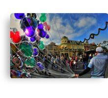 Walt Disney World Balloon Man Canvas Print