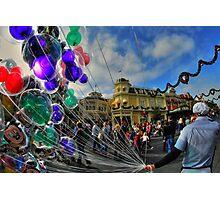 Walt Disney World Balloon Man Photographic Print