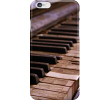 Playing Forever, Old Piano iPhone Case/Skin