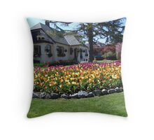 A Garden Home, Victoria Throw Pillow