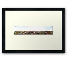 Louth Town 360 Degree Panorama Framed Print
