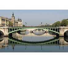 Reflections of Paris Photographic Print