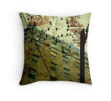 Silent Victims Throw Pillow