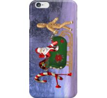 Santa`s Helpers .. iphone case iPhone Case/Skin