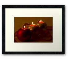 A Quiet December Evening Framed Print