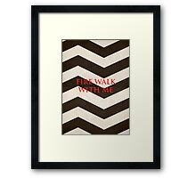 Twin Peaks: Fire Walk With Me Minimalist Poster Framed Print