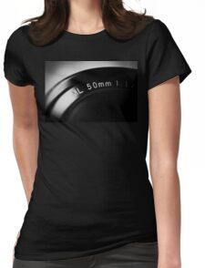 50mm Macro Womens Fitted T-Shirt
